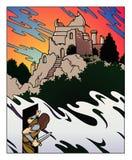 Porte à l'imagination illustration stock
