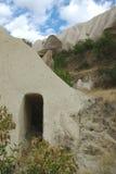 Porte à la caverne-maison dans Cappadocia Image libre de droits