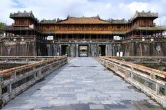 Porte à la citadelle de Hue Images libres de droits
