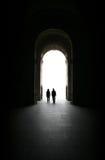 Porte à la lumière Photos libres de droits