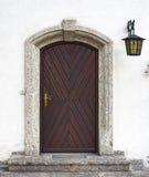 Porte à la maison Image stock