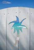 Porte à la plage Image stock