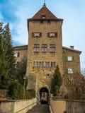 Porte à la vieille ville de Chur Image libre de droits