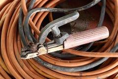 Porte-électrode de soudure Photo libre de droits