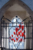 Porte 1 de cieux image stock
