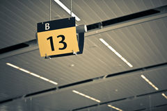 Porte 13 Images stock