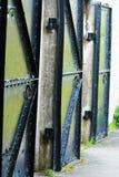 Porte abbandonate del metallo Fotografie Stock Libere da Diritti