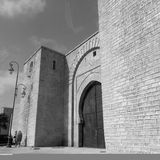 Porte antique de Bab Laalou /Rabat Photo libre de droits