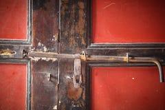Porte antique de casier photos libres de droits