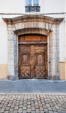 Porte antique de vintage Image stock