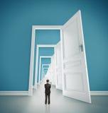 Porte aperte Fotografie Stock