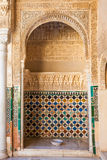 Porte Arabe à Alhambra Photos libres de droits