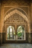 Porte arabe con i dettagli sulla parete e sulle porte, handcra Immagine Stock