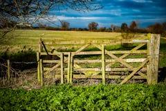 Porte arable de champ image libre de droits