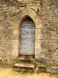Porte arquée médiévale Image libre de droits