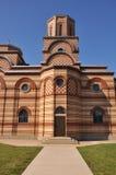Porte arrière de St Simeon Mirotochivi d'église Image stock