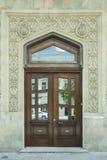 Porte au bâtiment Image libre de droits