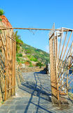 Porte au célèbre par l'intermédiaire du dell'Amore (la manière de l'amour) Photographie stock libre de droits