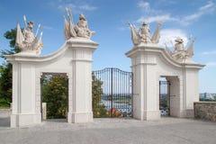 Porte au château de Bratislava Image stock