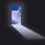 Porte au ciel Image libre de droits