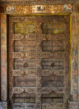 Porte au temple. Image libre de droits