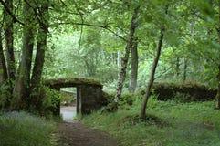 Porte aux bois, Stirling Photos stock