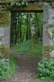 Porte aux bois, Stirling Photo stock