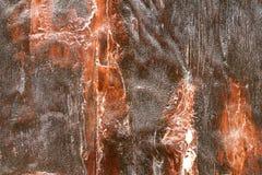 Porte avec la peinture d'épluchage Image libre de droits