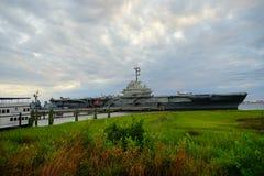 Porte-avions d'USS Yorktown image stock