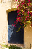 Porte bleue Gozo Photos libres de droits