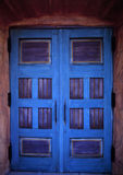 Porte blu Fotografia Stock Libera da Diritti