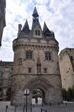 Porte Caihau in Bordeaux, Frankrijk Royalty-vrije Stock Afbeeldingen