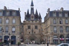 Porte Caihau no Bordéus, França fotografia de stock royalty free