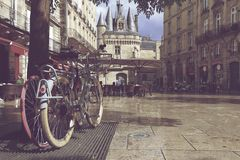 Porte Cailhau, aquitaine, Γαλλία στοκ φωτογραφίες με δικαίωμα ελεύθερης χρήσης