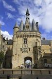 Porte Cailhau, aquitaine, França imagens de stock royalty free