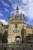 Porte Cailhau, aquitaine, France Royalty Free Stock Images