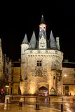 Porte Cailhau, Bordeaux Images libres de droits