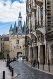 Porte Cailhau in Bordeaux, France Royalty Free Stock Photos