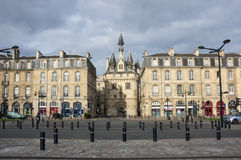 Porte Cailhau in Bordeaux Stock Photography