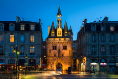 Porte Cailhau in Bordeaux, France Royalty Free Stock Photography
