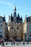 Porte Cailhau in Bordeaux Royalty Free Stock Images
