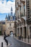 Porte Cailhau no Bordéus, França Fotos de Stock Royalty Free