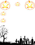 Porte-cartes de Halloween Images stock