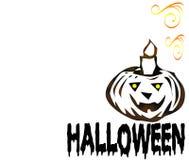 Porte-cartes de Halloween illustration stock
