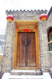 Porte chinoise photographie stock libre de droits