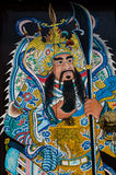 Porte chinoise de temple Photos libres de droits