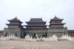 Porte chinoise de ville Image libre de droits
