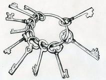 Porte-clés Image stock