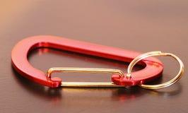 porte-clés de carabiner Image libre de droits