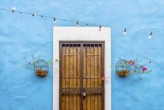Porte colorée Photographie stock